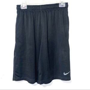 Nike Black/Gray Dri-Fit Basketball Shorts Size M